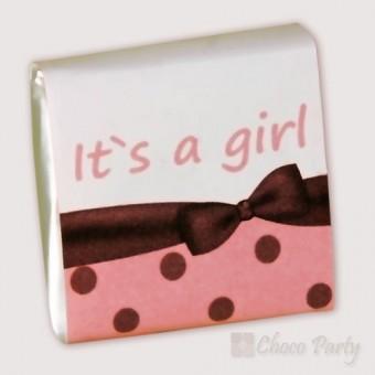 Мини шоколад – It`s a girl!