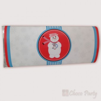 Шоколадова картичка – Снежко