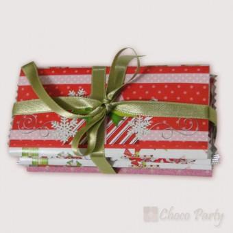 3 шоколада с празнични Коледни мотиви
