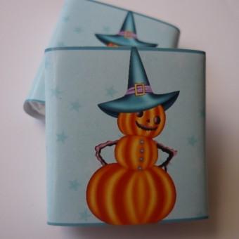 Шоколадче Хелоуин – тиква