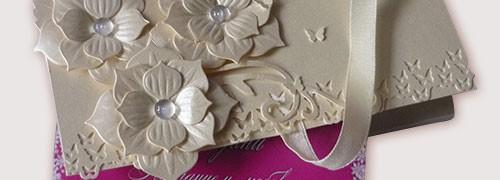 сватбени покани шоколад