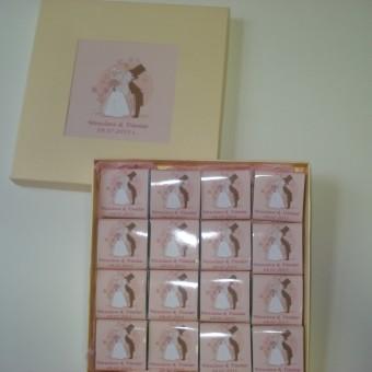Сватбена бонбониера Перла за подарък – Целувка