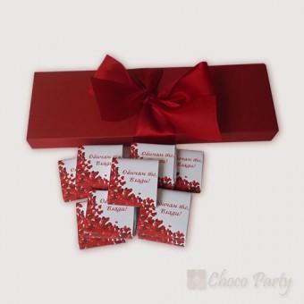 НАЙ-ПРОДАВАН ПРОДУКТ – Елегантна бонбониера за подарък – Обичам те!