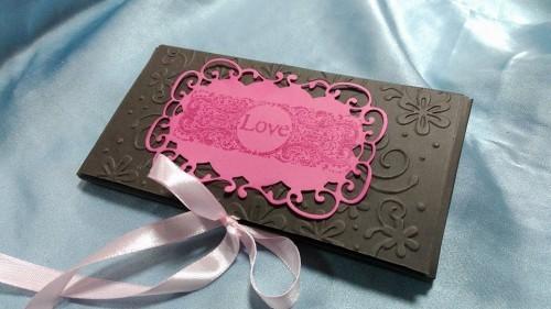 Шоколадова картичка в плик кутия – Само за влюбени