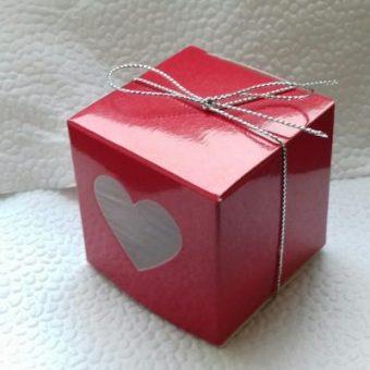 Кутийка с 2 шоколадови сърца