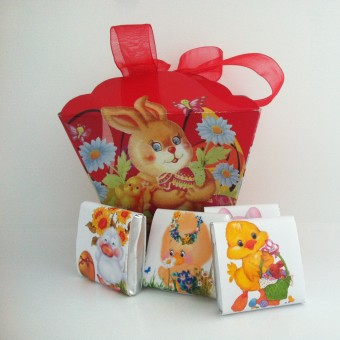 Великденска кутия пълна с шоколад!