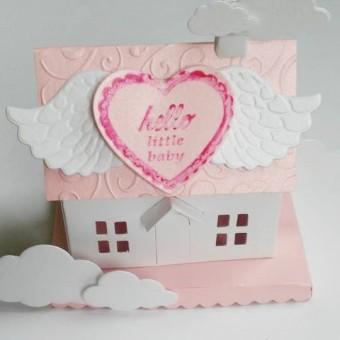 Приказна къщичка с мини шоколади – Бебе!