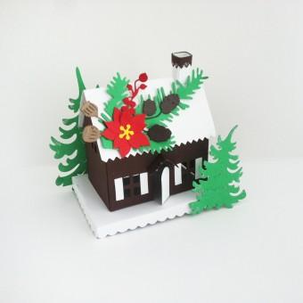ВНИМАНИЕ! НОВ ПРОДУКТ – Приказна къщичка с мини шоколади – Коледа!