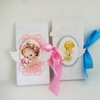Шоколадова картичка в плик кутия – Бебе!