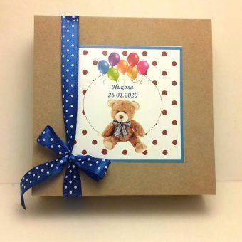 Бонбониера ЕКО – Подарък за Кръщене и Рожден ден