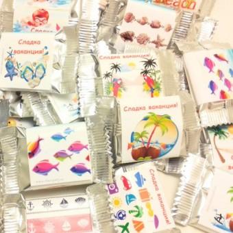 Комплект 30 шоколадчета Сладка ваканция!