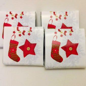 Мини шоколади – Коледно чорапче