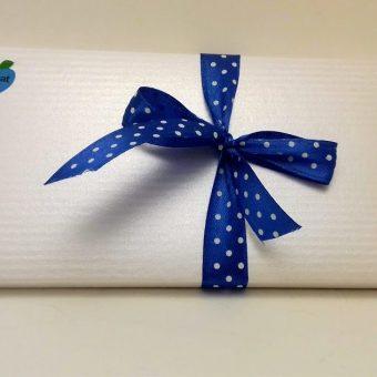 НОВО – Плик кутия Сатен с 8 мини шоколада